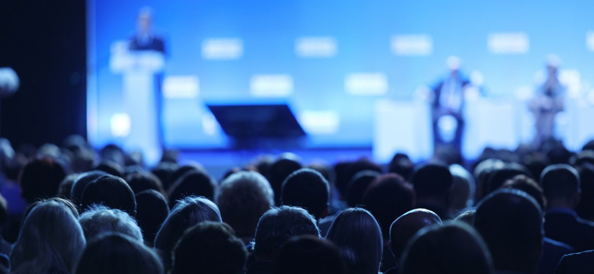 Audience,At,The,Conference,Hall.,Business,Conference,And,Presentation